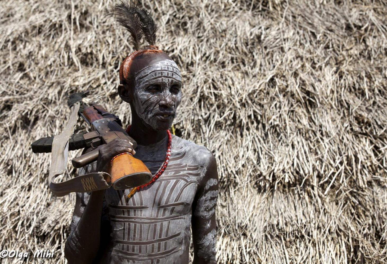 Эфиопия. Племя каро (Karo)