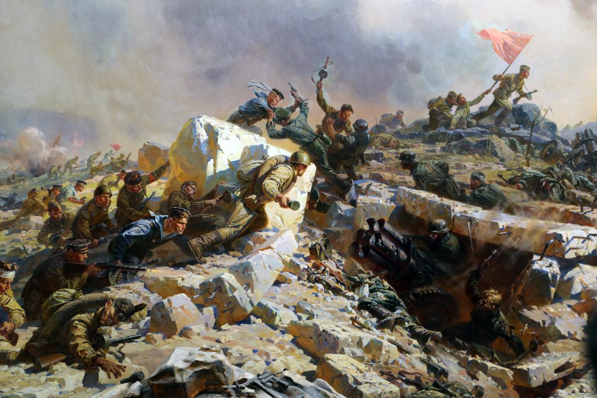 Диорама «Штурм Сапун-горы 7 мая 1944 года»