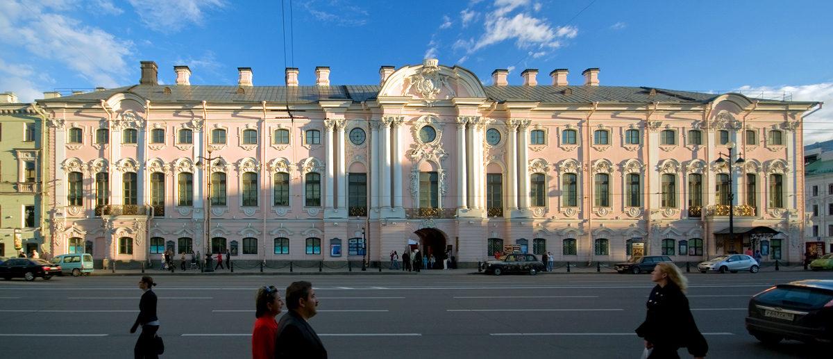 Санкт-Петербург, дворец Строгановых