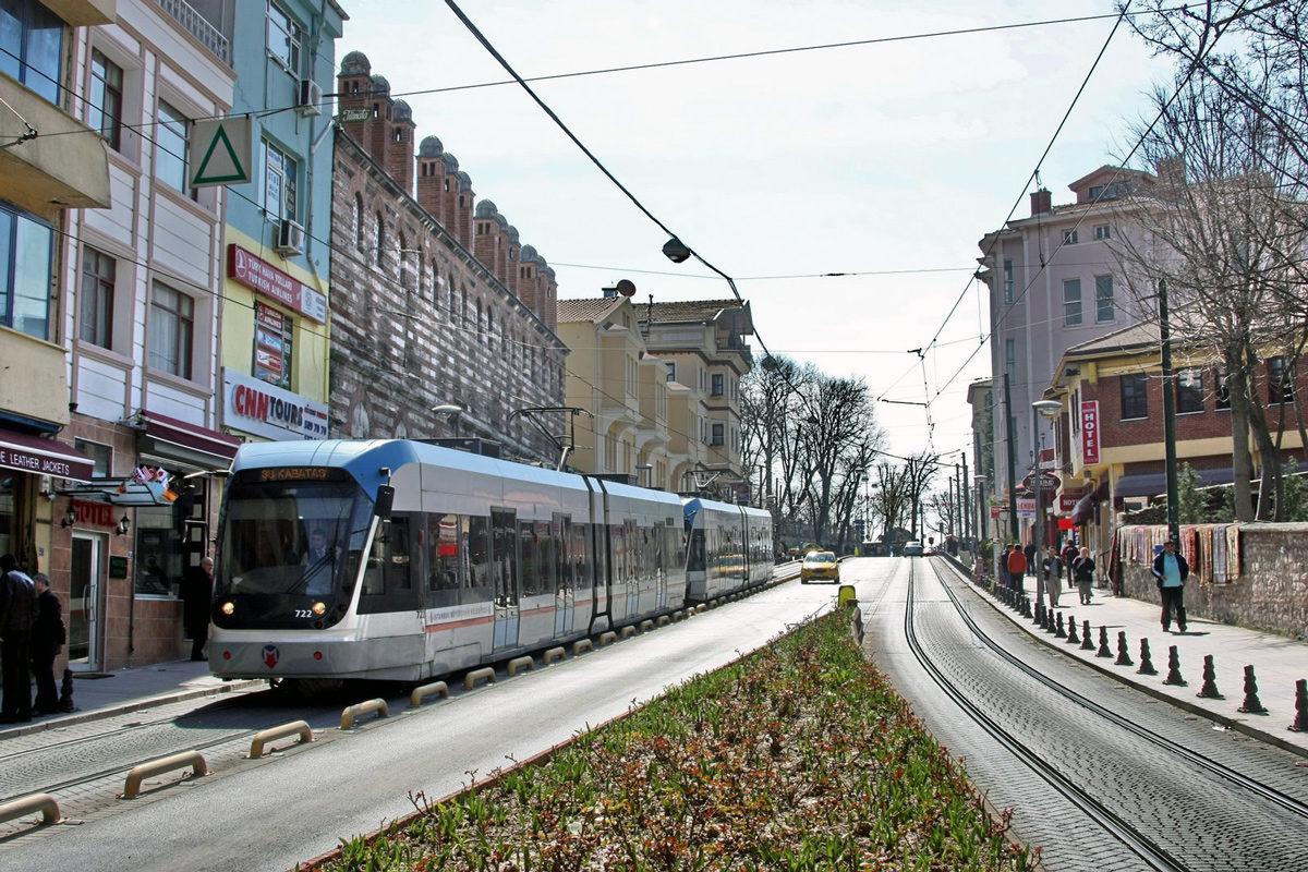 Стамбул, скоростной трамвай