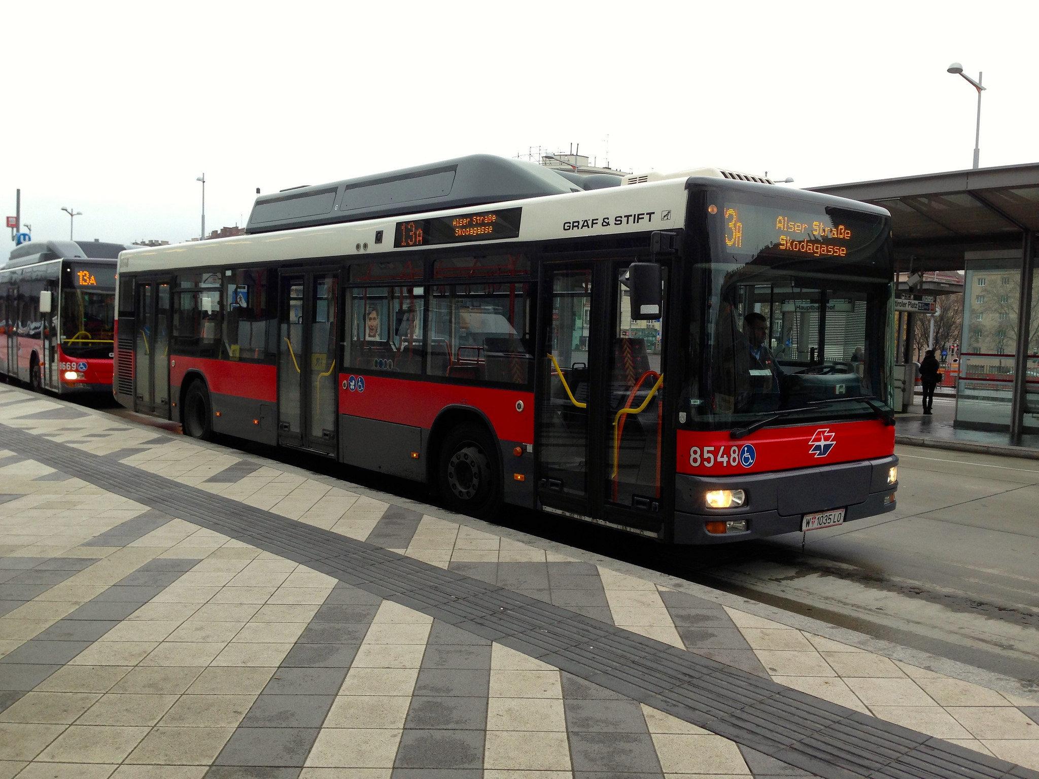Вена, городской транспорт